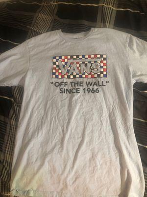 Vans t shirt medium for Sale in Murrieta, CA