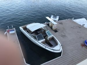 Sea Ray boat 8 cylinder inboard with great trailer new tires for Sale in Fountain Valley, CA