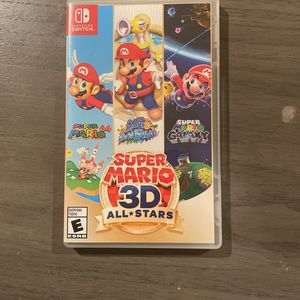 Super Mario 3-D all star (Game case only) for Sale in Gaithersburg, MD