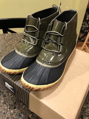 Sorel Ladies Waterproof Out N About Rain Boots . for Sale in Aurora, IL