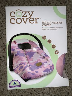 Cozy Cover-infant car seat cover for Sale in Crestview, FL