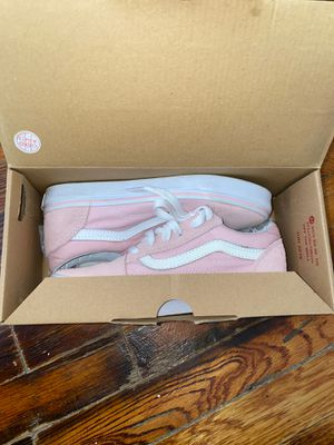 VANS / PINK - low top sneakers (suede) for Sale in New York, NY