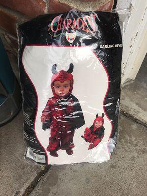 2-4 yrs old devil costume for Sale in Fresno, CA