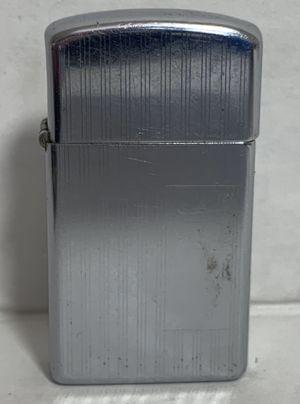 Zippo 1976 Slim Etched Vertical Lines Lighter Vintage for Sale in Beaverton, OR