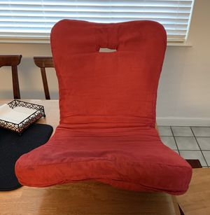 Red floor swivel chair for Sale in Sacramento, CA