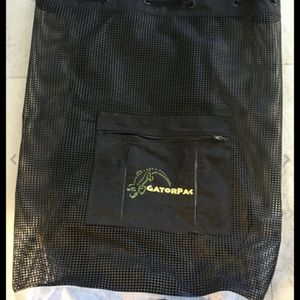 AKONA Mesh Backpack Scuba Dive Gear Bag FREE Diving Fins snorkeling Front Pocket for Sale in Jacksonville, FL