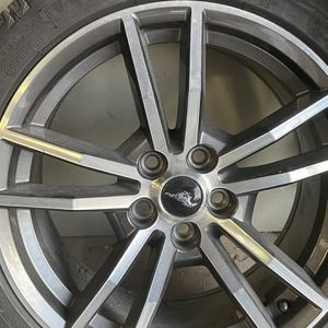 Mustang Rims And New Snow Tires for Sale in Annandale, VA