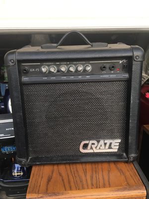 Crate Gx-15 guitar combo amplifier good condition. for Sale in Oakley, CA