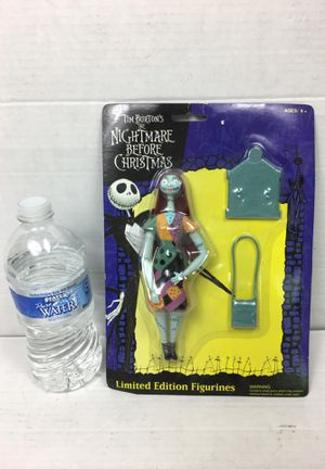 Tim Burton nightmare before Christmas Sally Limited addition figuring number before Christmas Jack and Sally Disney toys Mickey Mouse Minnie mouse av for Sale in La Habra, CA