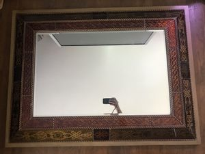 Large 4ft x 3ft hand painted Bombay Mirror. for Sale in Lexington, KY