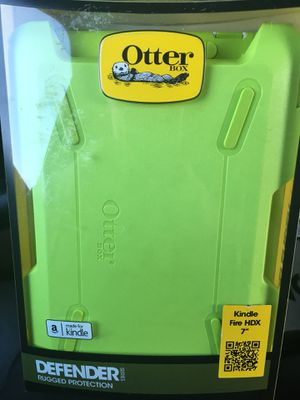 "Otterbox amazon kindle fire HDX 7"" case for Sale in New Britain, CT"