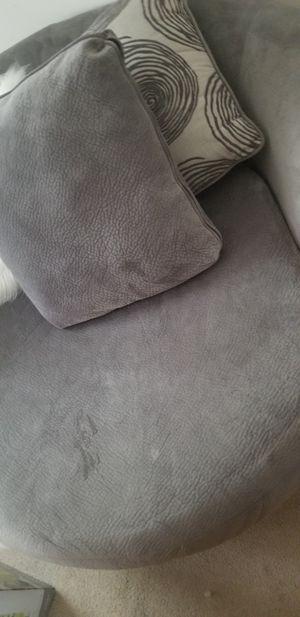 Expat sale Grey swiffel chair for Sale in Arlington, VA