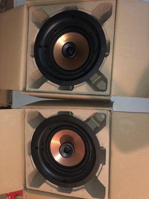 2 Klipsch CDT-5800-C II in ceiling speakers for Sale in Denver, CO