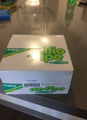 Bio pipe disposable filters 30 and pipe cleaners for Sale in San Diego, CA