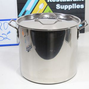 #120 32 STAINLESS STEEL STEAMER POT KITCHEN RESTARANT SUPPLIES SALE for Sale in Westminster, CA