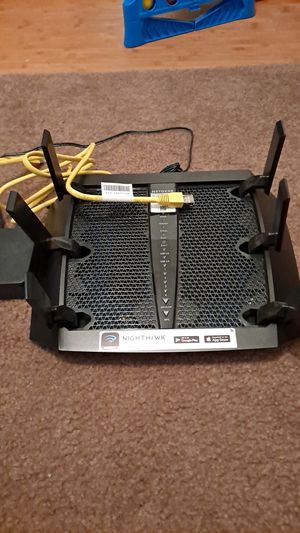 Netgear Nighthawk X6 AC3000 Tri-band WiFi Router $150 like new for Sale in Riverside, CA