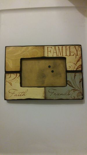 Decorative Wood photo frame for Sale in Stockton, CA