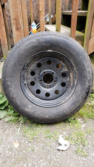 Trailer tires and axle with brake kit for Sale in Seattle, WA