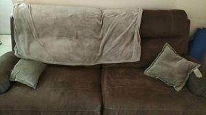 Electric leather sofa for Sale in Miami, FL