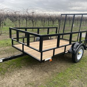 Trailer 5x8 Good Condision 2021 $1500 for Sale in Walnut Grove, CA