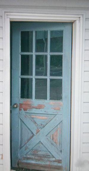 Salvaged Farmhouse Half Lite Door for Sale in Spartanburg, SC