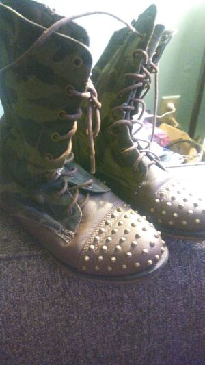 Studded camo boots for Sale in Columbus, OH