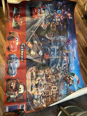 Disney Cars theme fathead decal for Sale in Inglewood, CA