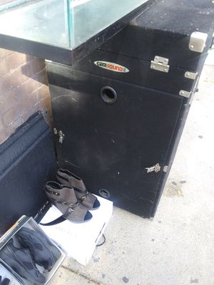 DJ equipment transportation box with wheels. for Sale in Chicago, IL