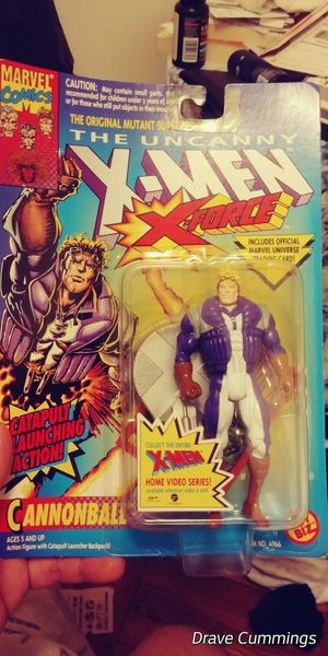 Xmen action figure (cannonball) for Sale in Brooklyn, NY