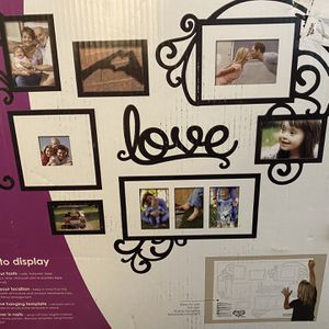 Love Collage Photo Frames For Wall for Sale in Alsip, IL