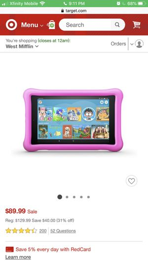 Kindle fire for kids for Sale in Clairton, PA