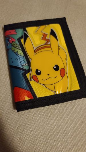 Pokémon Pikachu wallet for Sale in Orange, CA