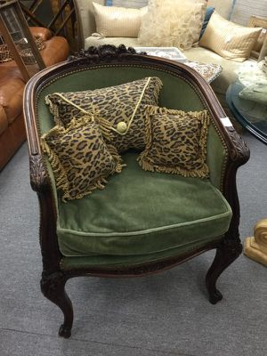 Antique chair, exquisitely hand carved for Sale in Atlanta, GA