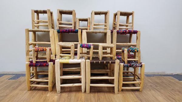 Handmade Stools/ Tables