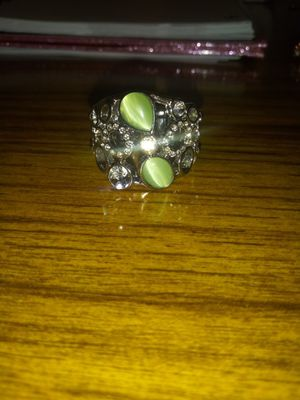Beautiful green moonstone ring for Sale in Cleveland, OH
