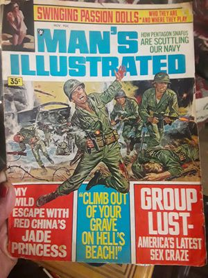 Man's Illustrated Nov 1969 for Sale in Cleveland, OH