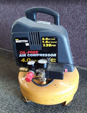 Air Compressor 4 gal BOSTITCH Pancake for Sale in Grove City, OH