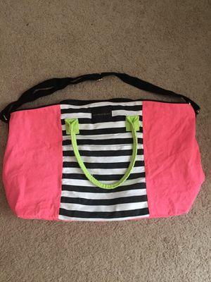 Victoria secret large striped tote bag for Sale in Plainfield, IL
