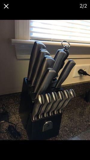 Knife Block Set for Sale in Chesapeake, VA
