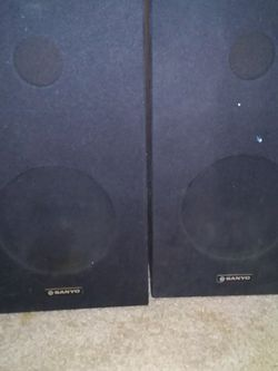 Pair Of Sanyo. Speekers for Sale in San Angelo,  TX