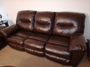 Sofa - 3 Seat - Recliner for Sale in Newark, CA