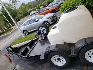 2016 MMDI UTILITY TRAILER 10 X 5 FOR HEABY EQUIPMENT for Sale in Carol City, FL