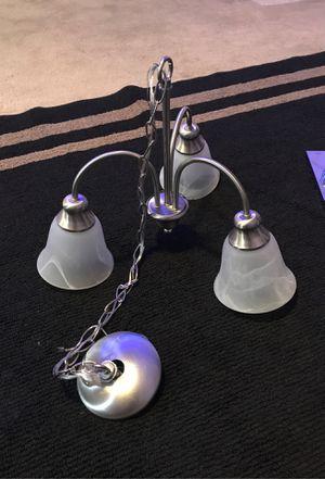 3 LAMP CHANDELIER for Sale in Glendale, AZ