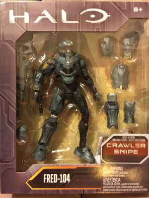 "New HALO Collector Series Fred-104 6"" Action Figure w/ weapons & removable armor for Sale in Union City, CA"