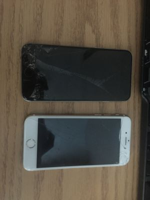 2 Broken iPhone 6 and iPhone 6s for Sale in Celina, OH