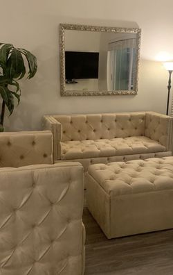 Custom Made Tufted Sofa and Couch for Sale in Atlanta,  GA