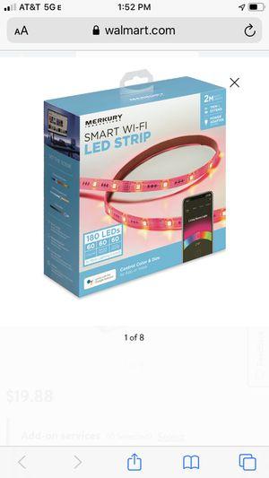 Smart WiFi LED Strip for Sale in Carol Stream, IL