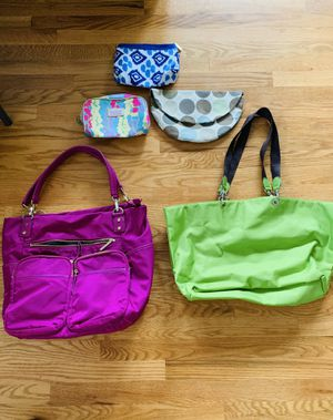Totes and toiletries bags for Sale in Annandale, VA