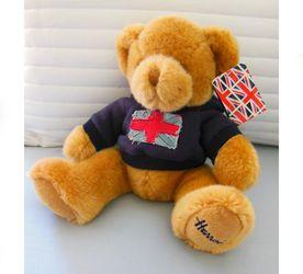 Harrods Plush Stuffed Animal Union Jack Hoodie Teddy Bear for Sale in Cape Coral,  FL