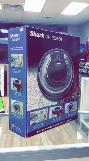 Shark ION Robot self cleaning Vacuum with smart sensor Navigation for Surface Floors AND Thin Carpet and Easy Scheduling Remote Brand New in box for Sale in Dallas, TX